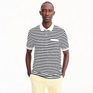 J.Crew Stretch Pique Polo Shirt